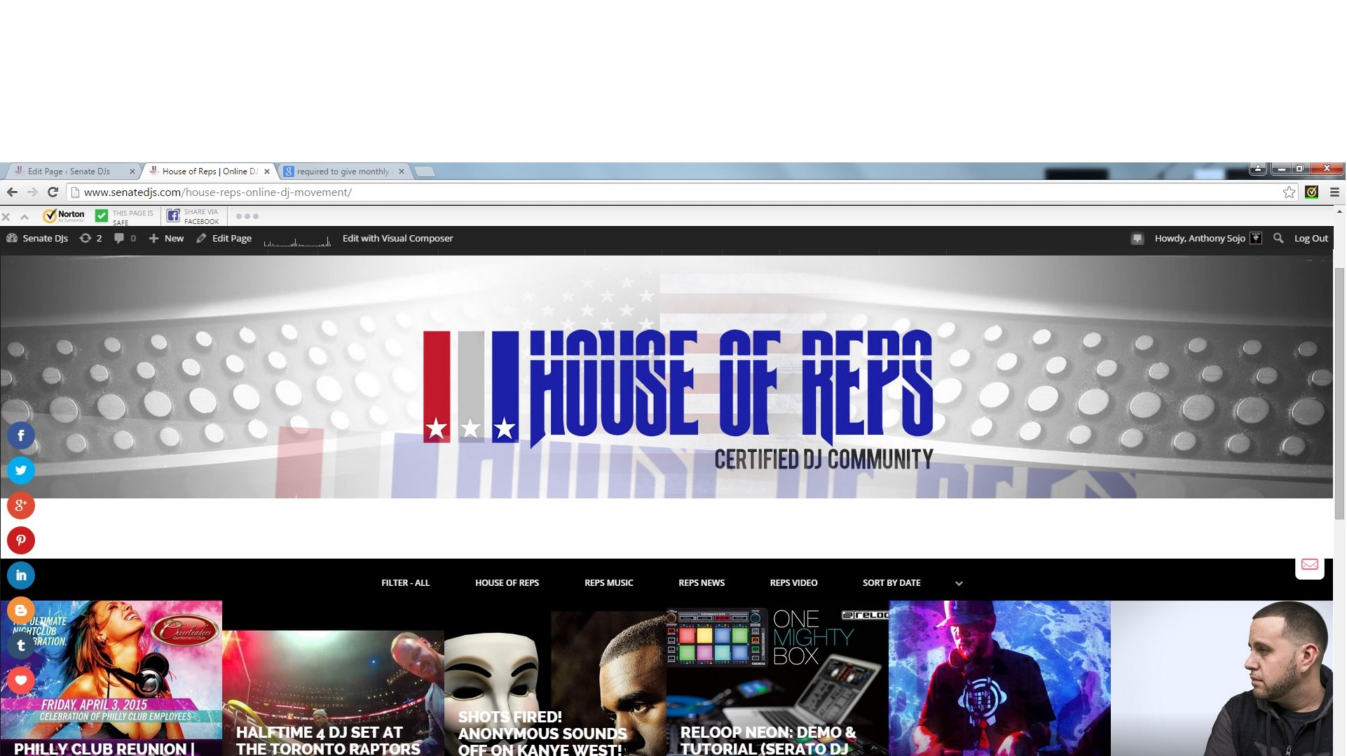 house-of-reps-dj-comunity-social-network-
